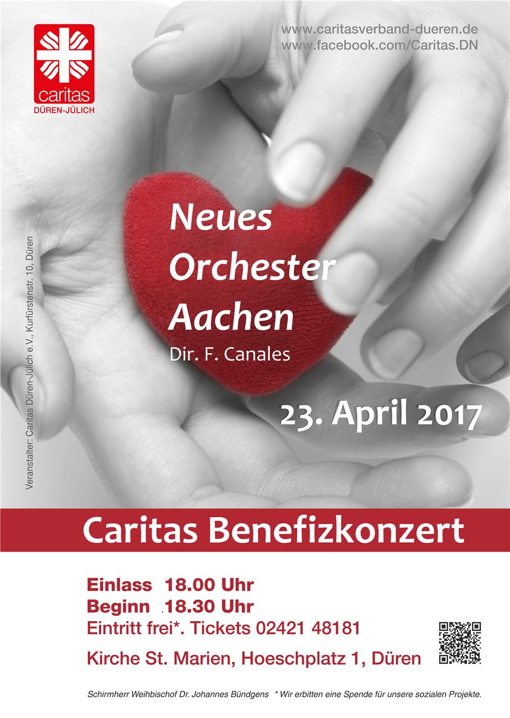 Benefizkonzert am 23.4.2017