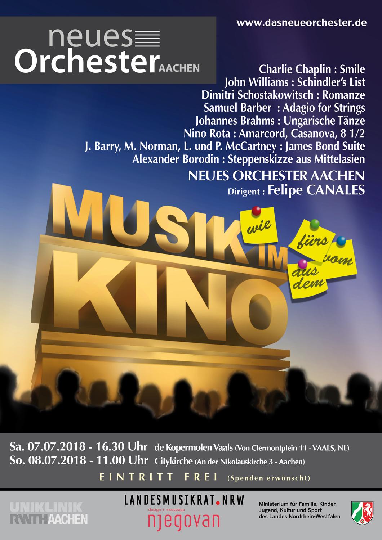"Konzert in AACHEN : ""Musik im Kino"""